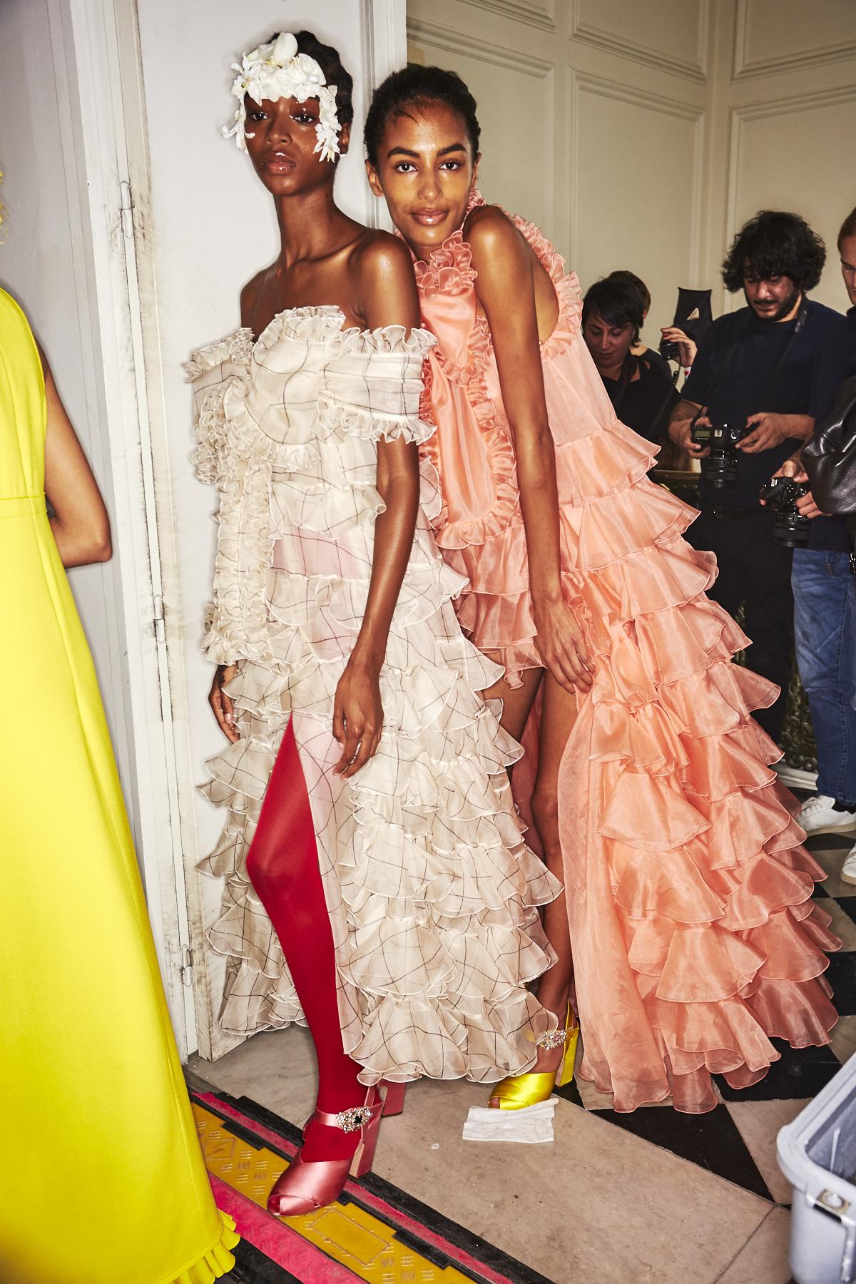 Giambattista Valli SS20 Fashion Show Paris Backstage