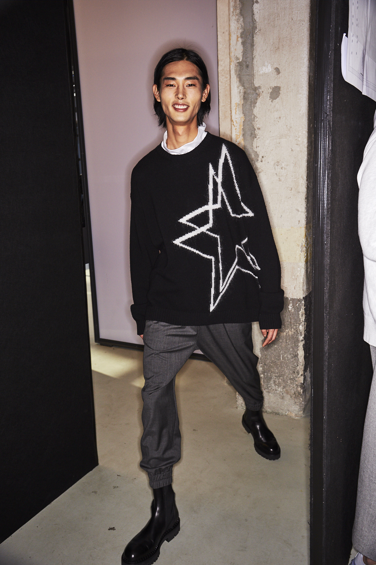 N21 AW2021 Men Fashion Show Milan Backstage