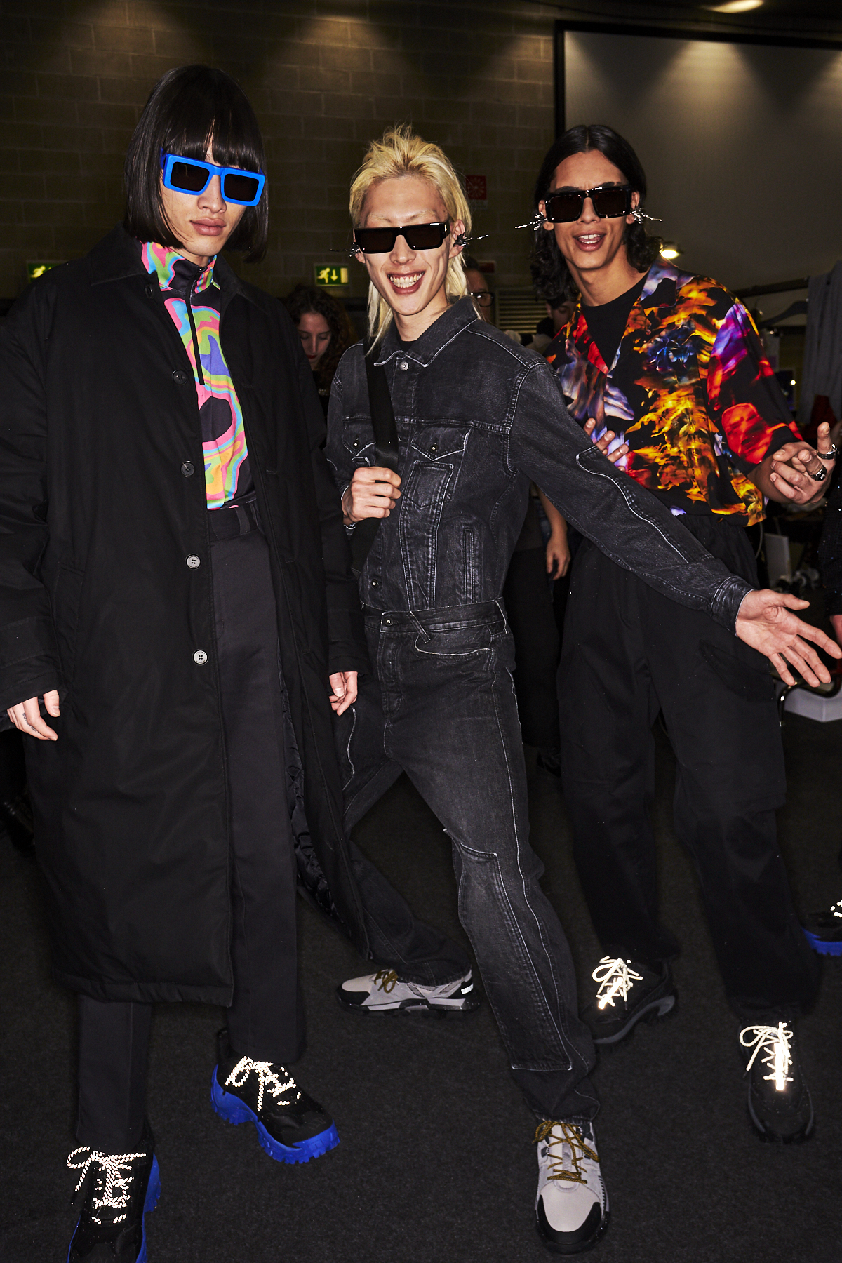 Marcelo Burlon County of Milan AW2021 Men Fashion Show Milan Backstage