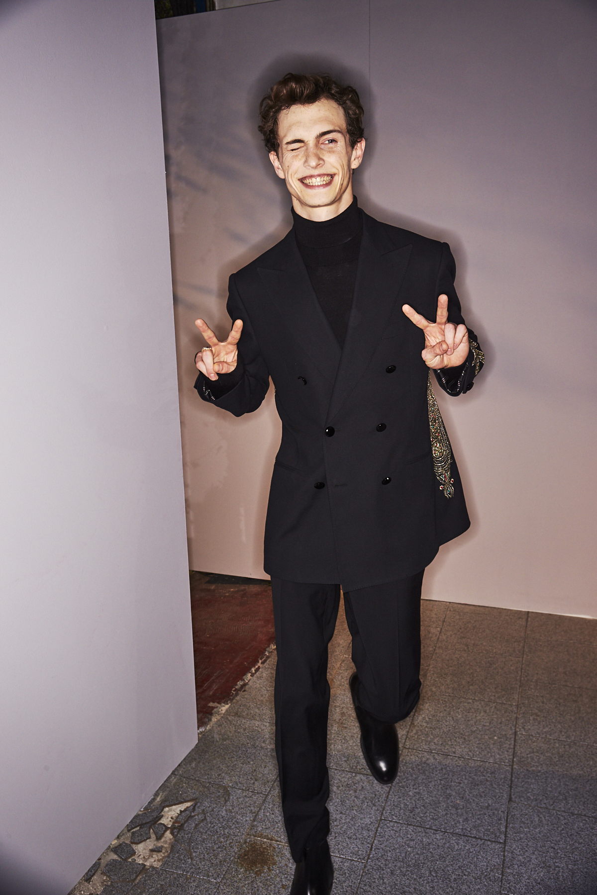 Etro AW2021 Men Fashion Show Milan Backstage