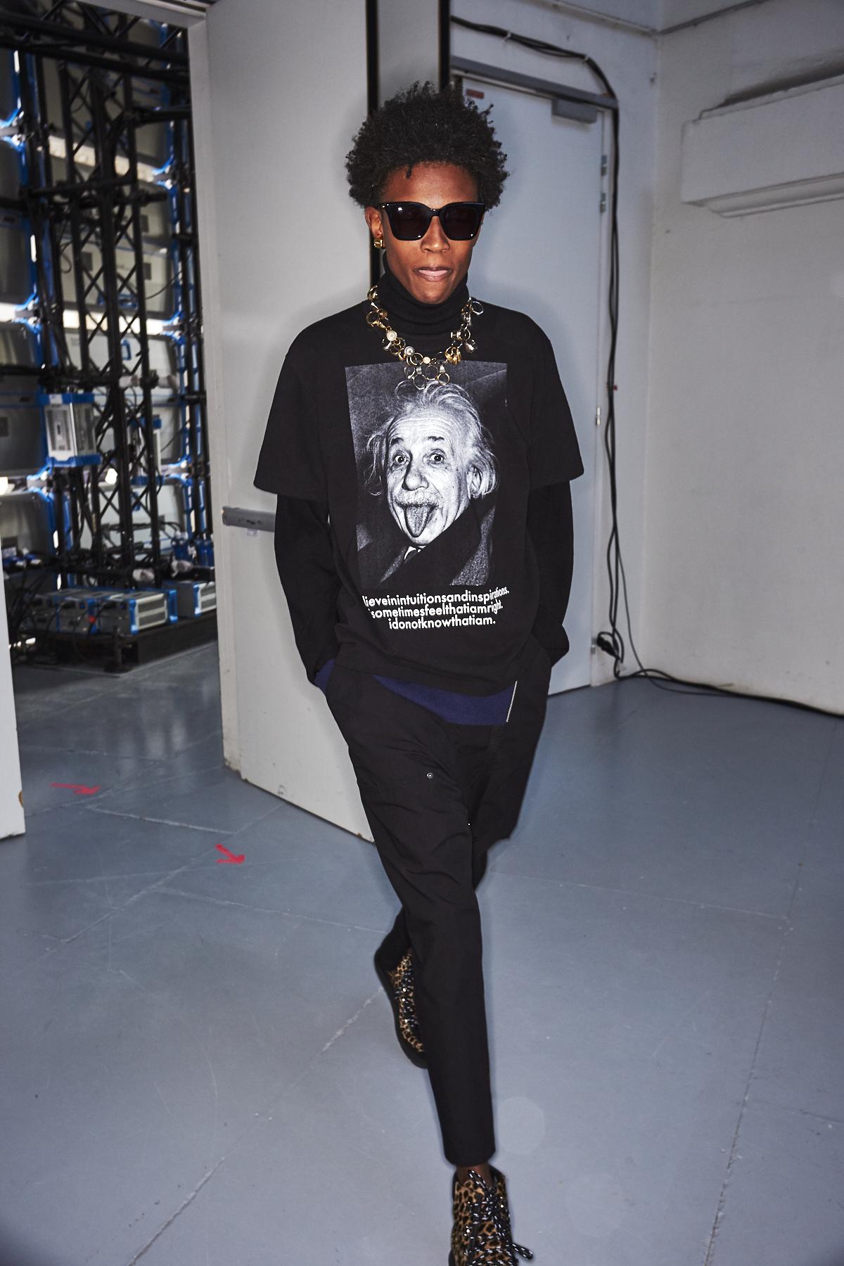 Sacai AW2021 Men Fashion Show Paris Backstage