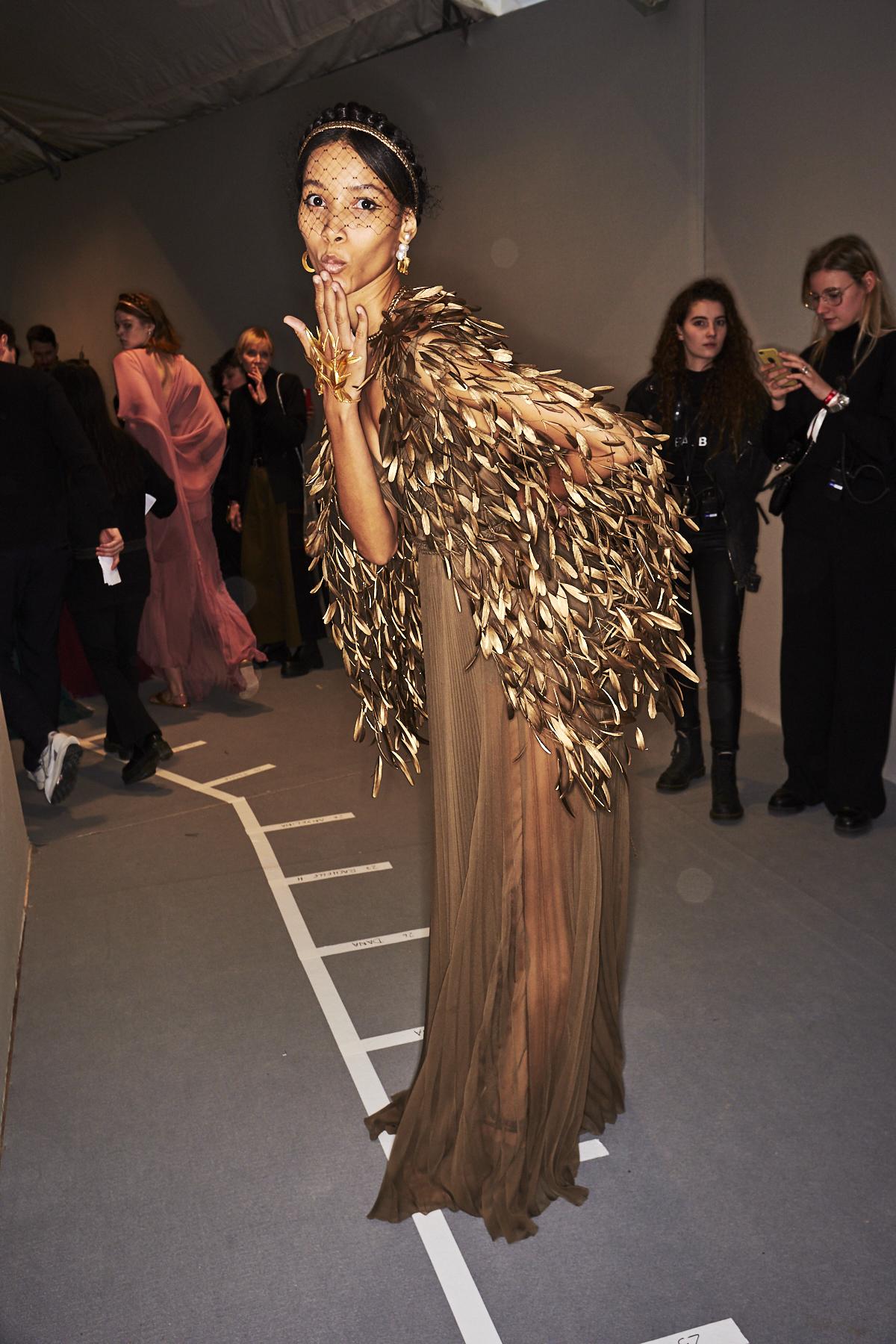 Dior Haute Couture SS20 Fashion Show Paris Backstage