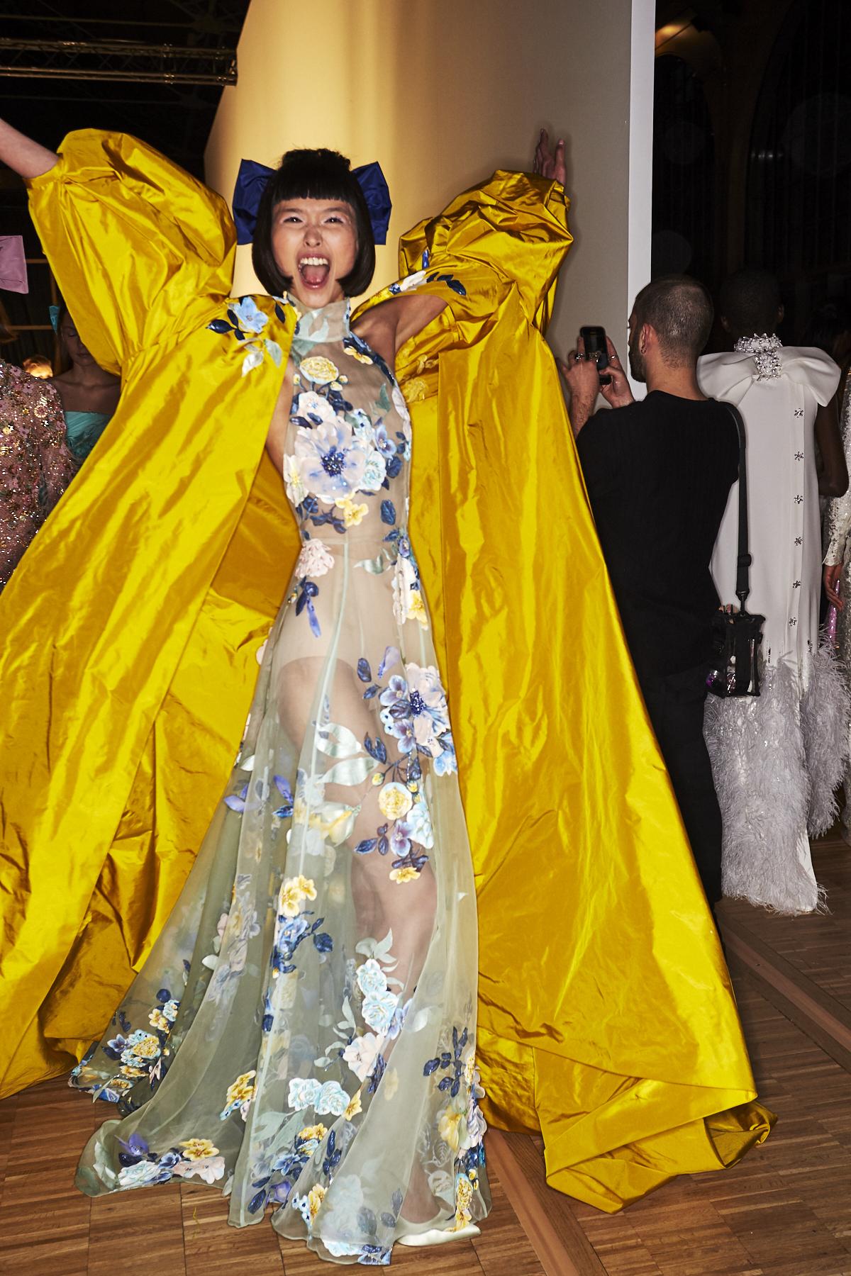 Ralph & Russo SS20 Haute Couture Fashion Show Paris Backstage