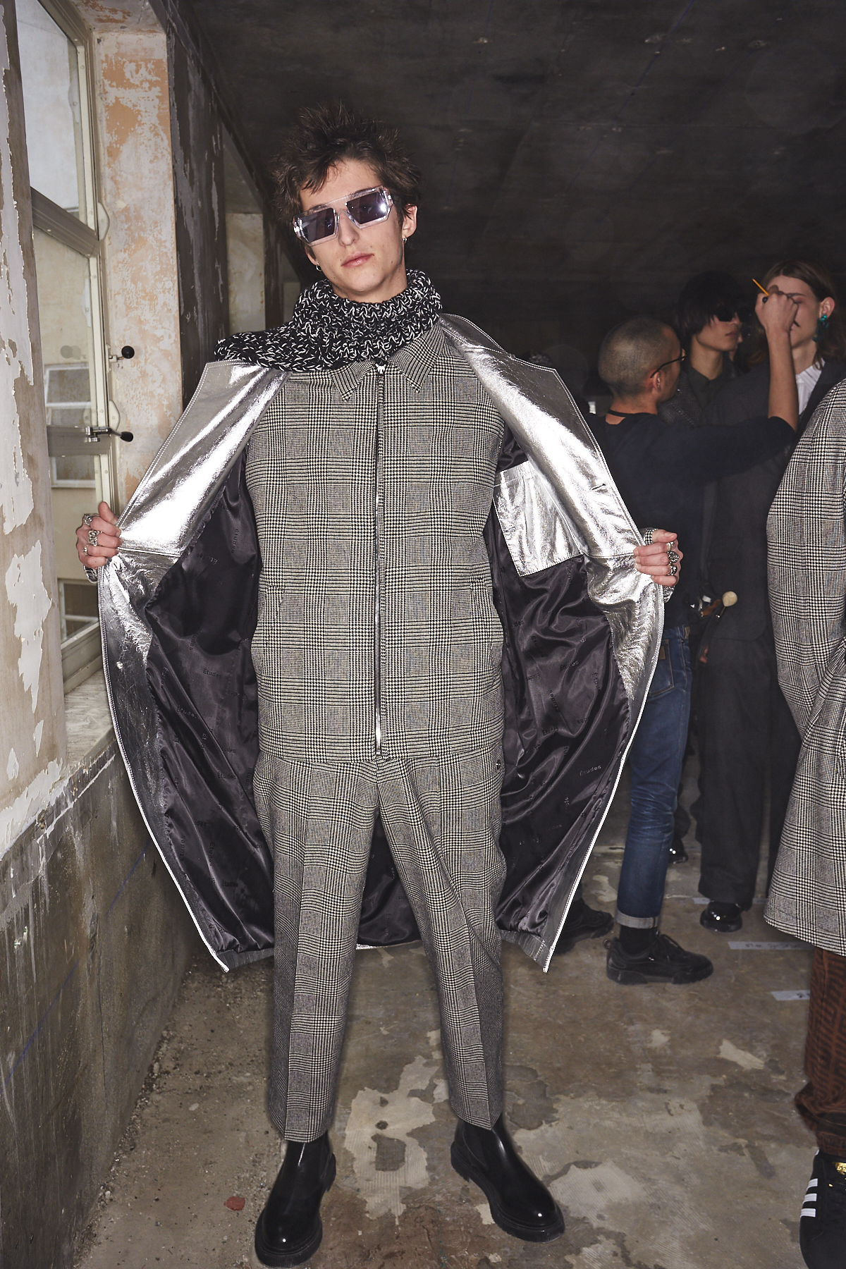Etudes AW2021 Fashion Show Paris Backstage