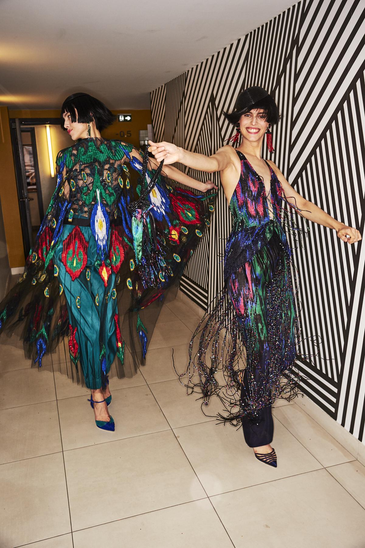 Armani Prive SS20 Haute Couture Fashion Show Paris Backstage