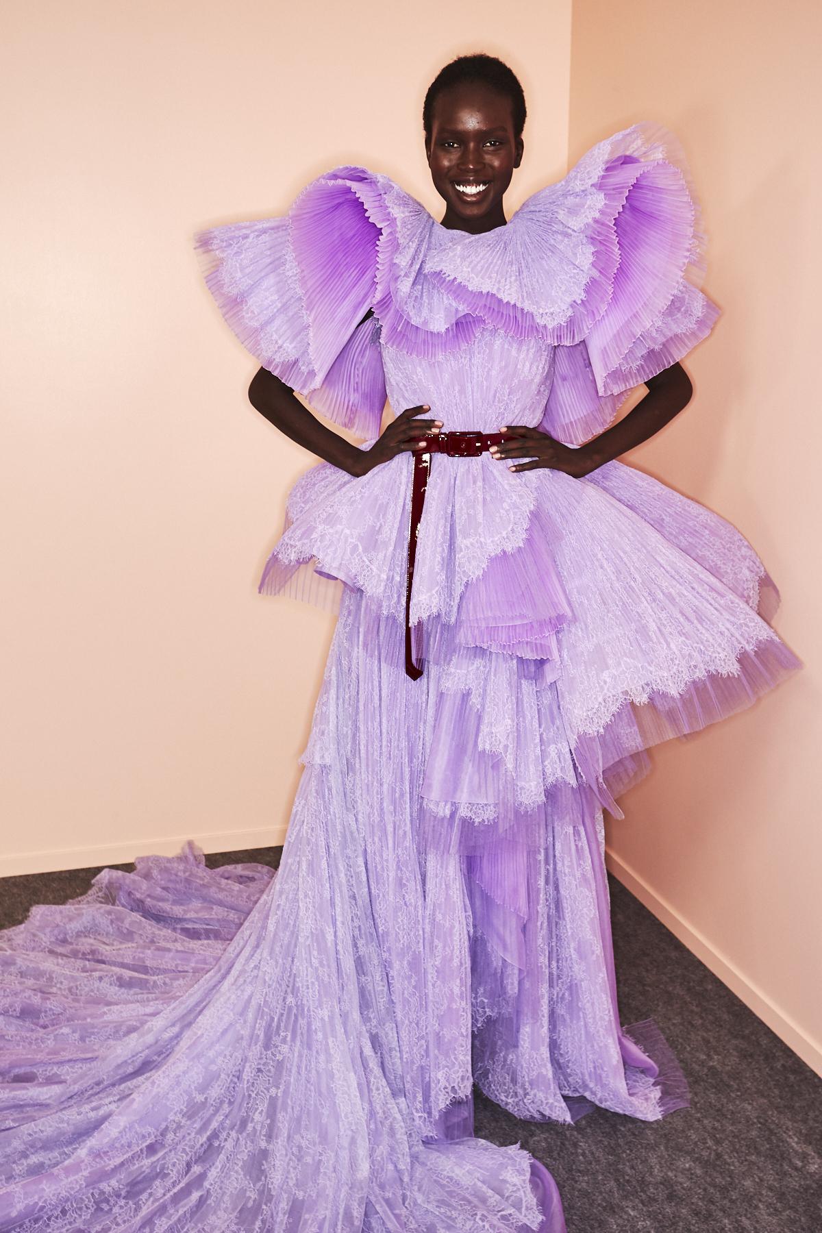 Givenchy SS20 Haute Couture Fashion Show Paris Backstage