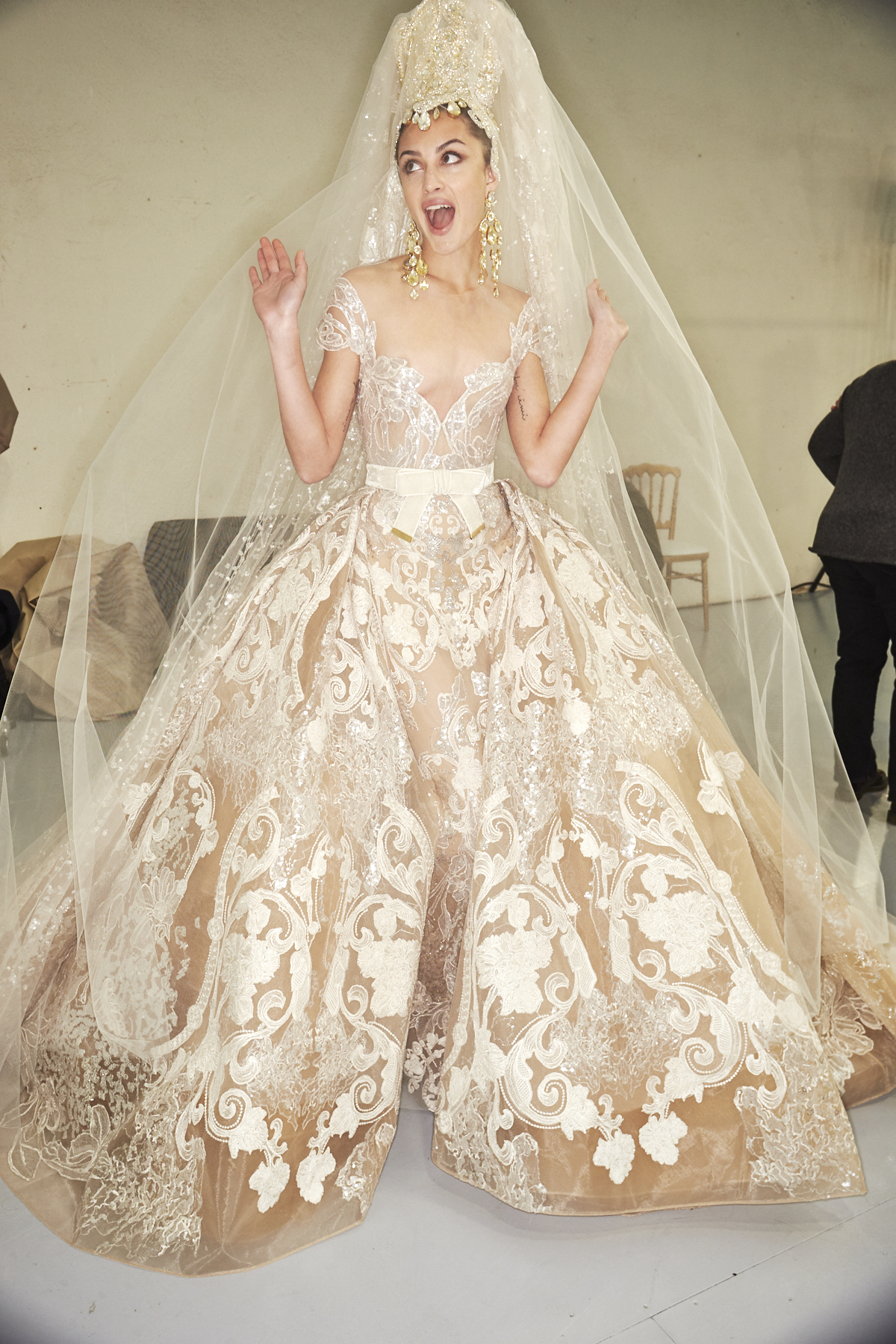 Elie Saab SS20 Haute Couture Fashion Show Paris Backstage