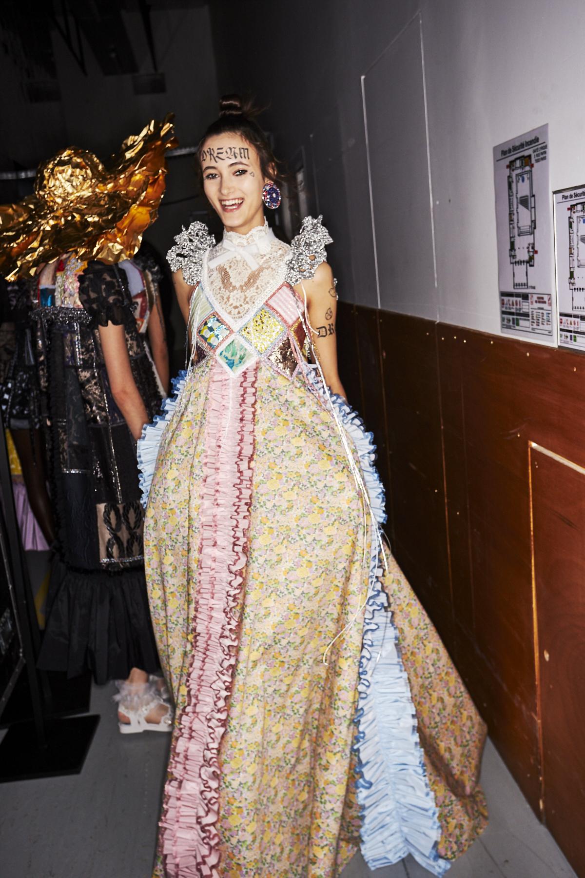 Viktor & Rolf SS20 Haute Couture Fashion Show Paris Backstage