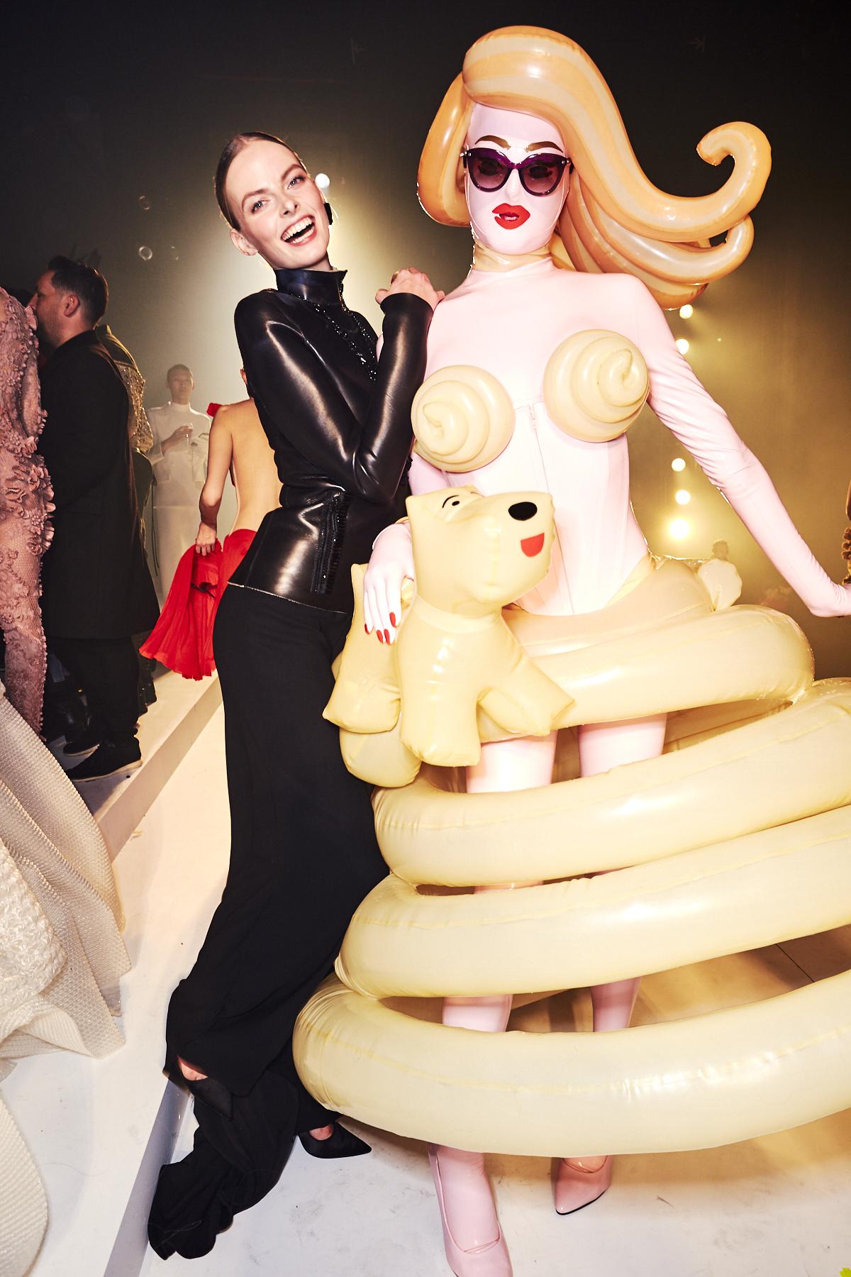 Jean Paul Gaultier SS20 Haute Couture + Retrospective Extravaganza Fashion Show Paris Backstage