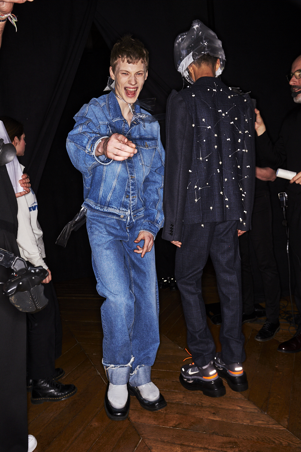 Botter AW2021 Men Fashion Show Paris Backstage