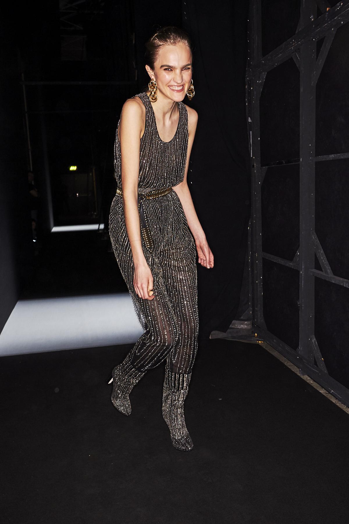 Alberta Ferretti AW2021 Fashion Show Milan Backstage