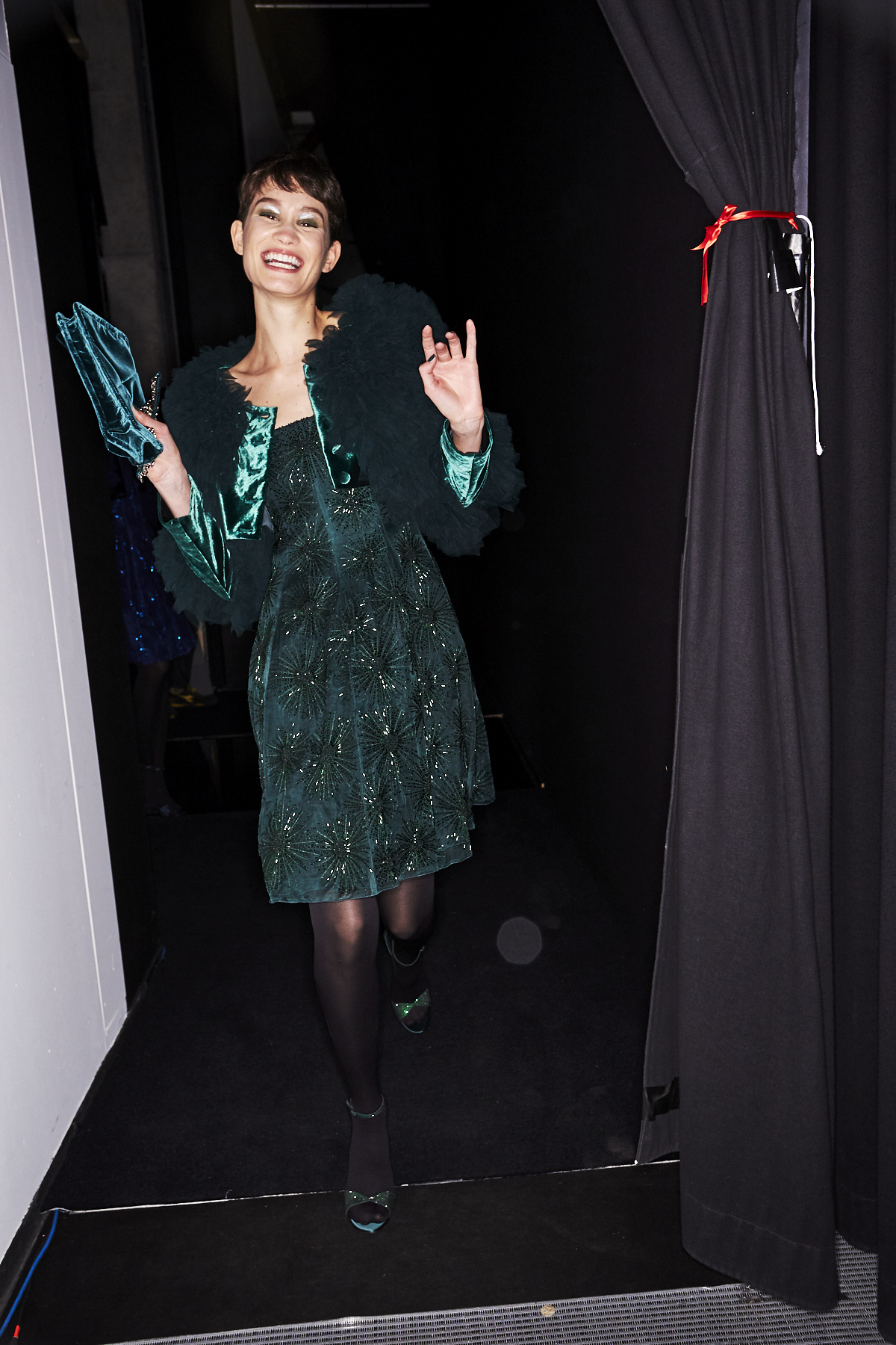 Giorgio Armani AW2021 Fashion Show Milan Backstage