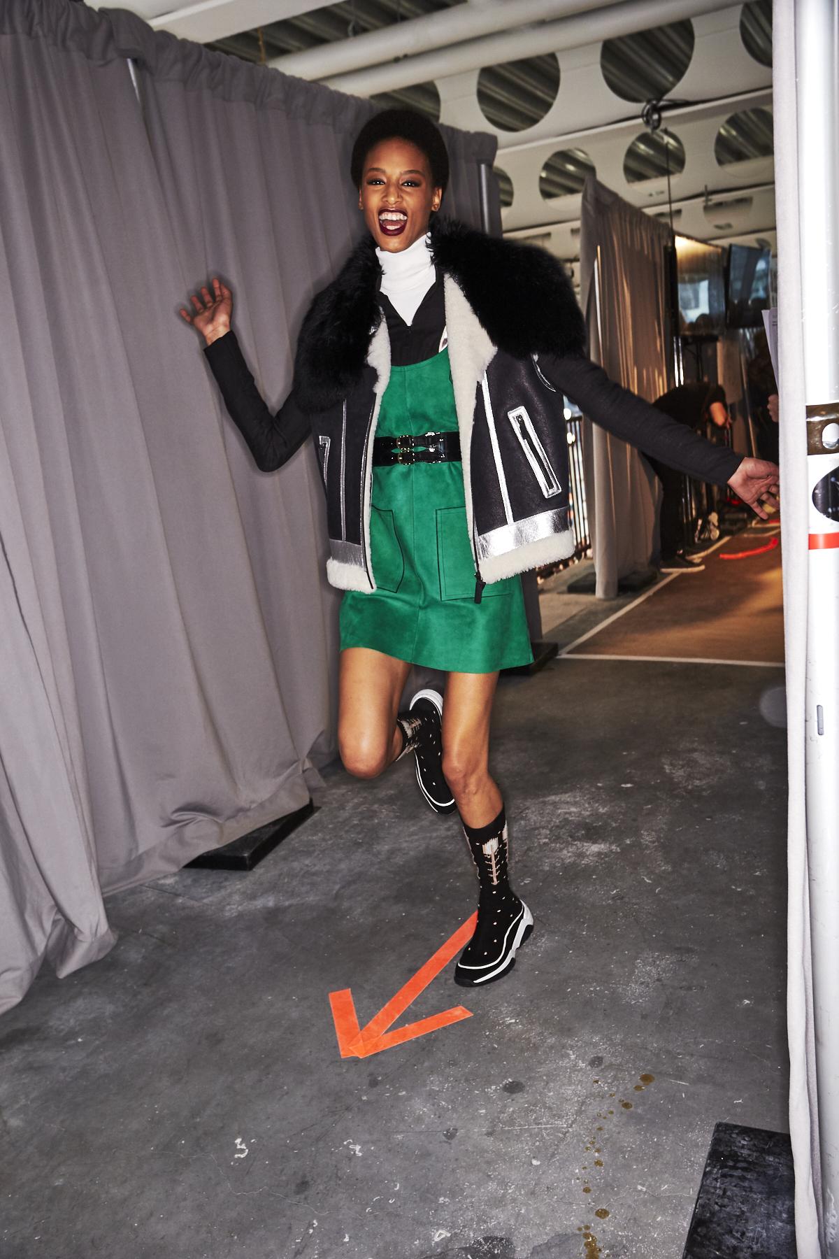 Longchamp AW2021 Fashion Show New York Backstage