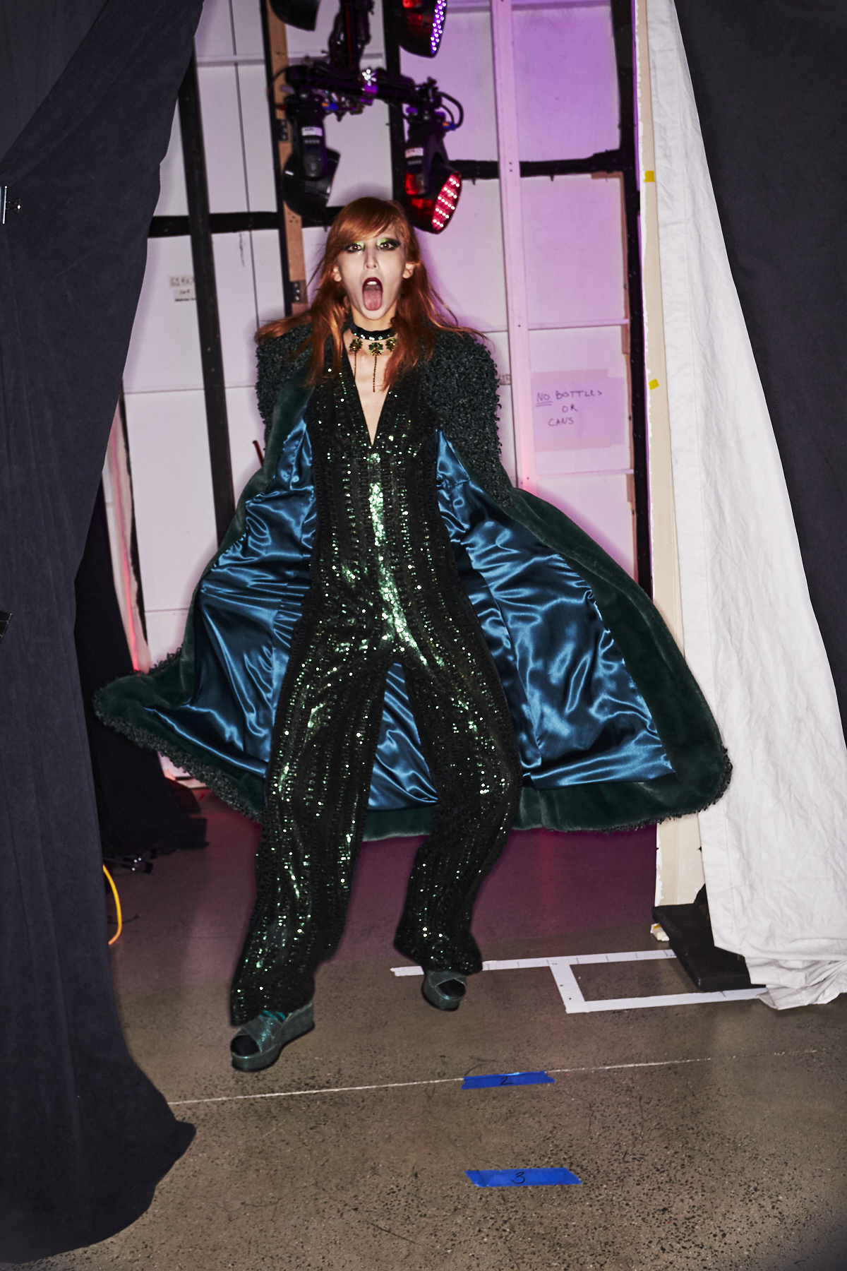 Anna Sui AW2021 Fashion Show New York Backstage