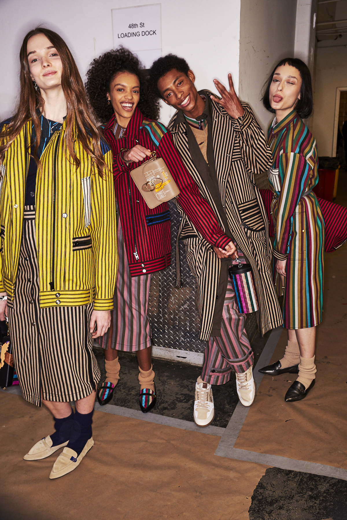 Coach AW2021 Fashion Show New York Backstage