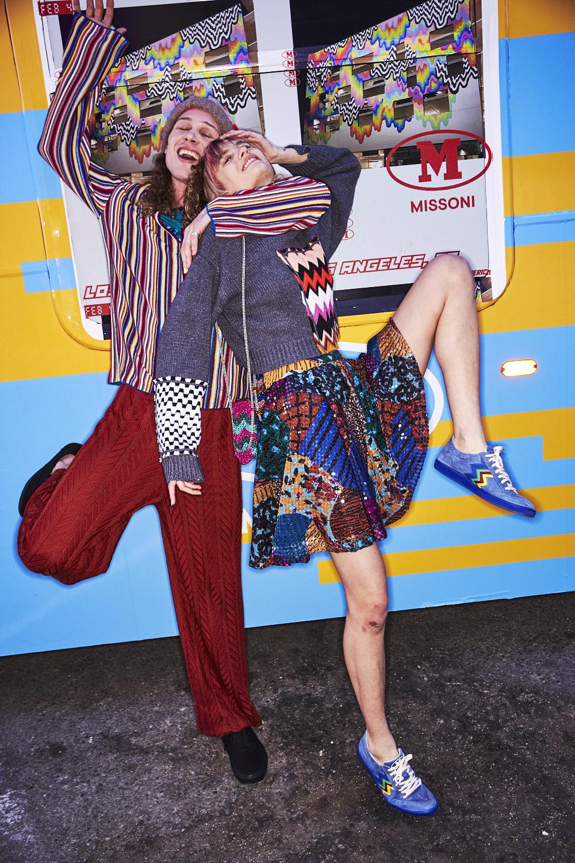 M Missoni AW20 Fashion Show Backstage Los Angeles