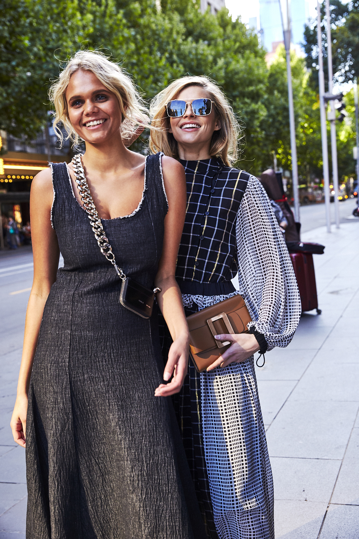 Shooting David Jones Ambassadors in the middle of Melbourne CBD