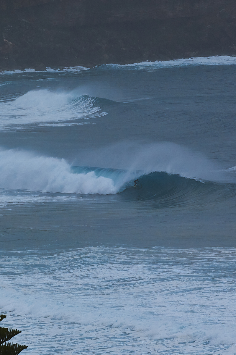 And Another Big South Swell in July 2020