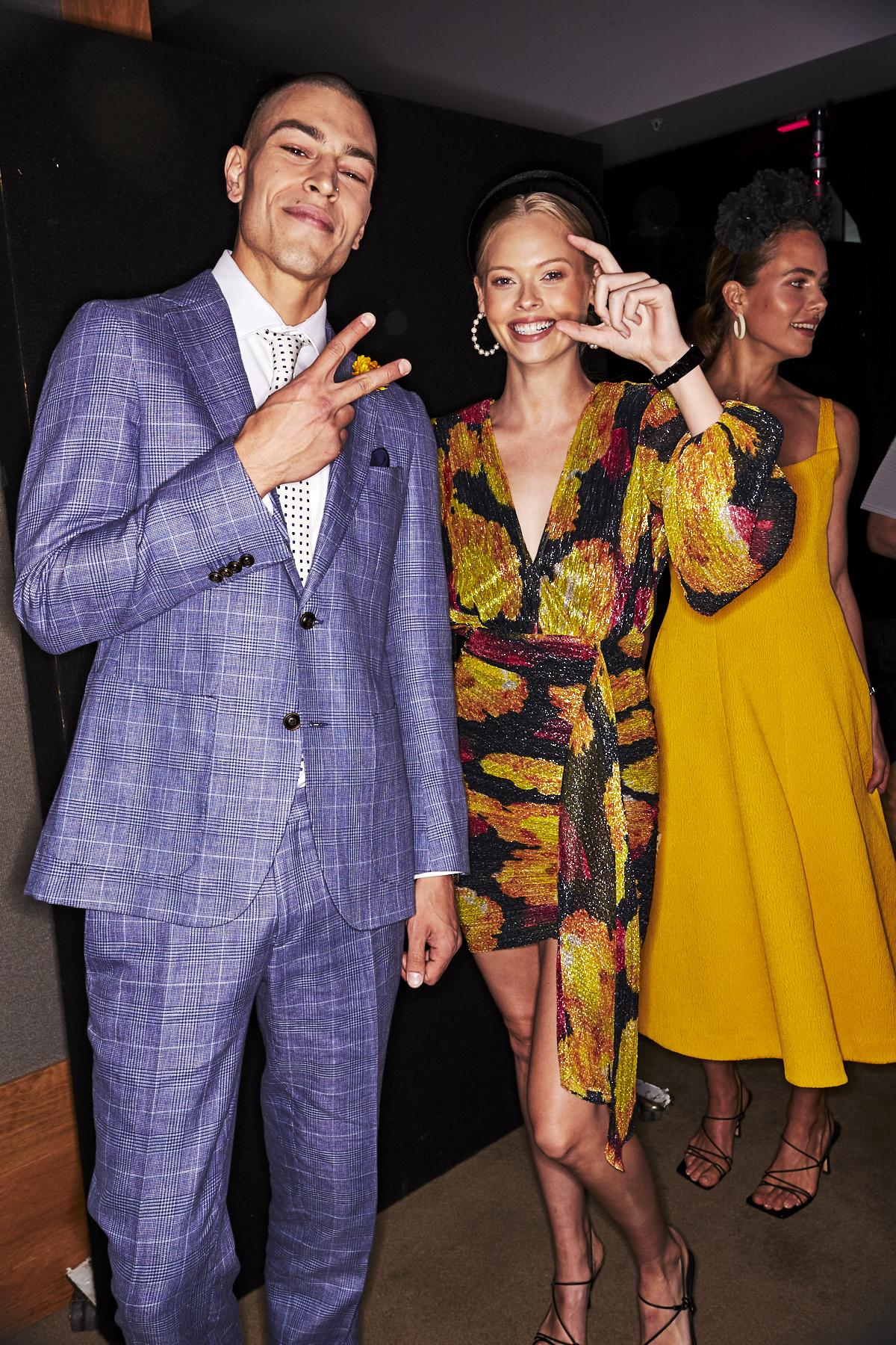 Vogue Mini Fashion at the Australian Turf Club Everest Event