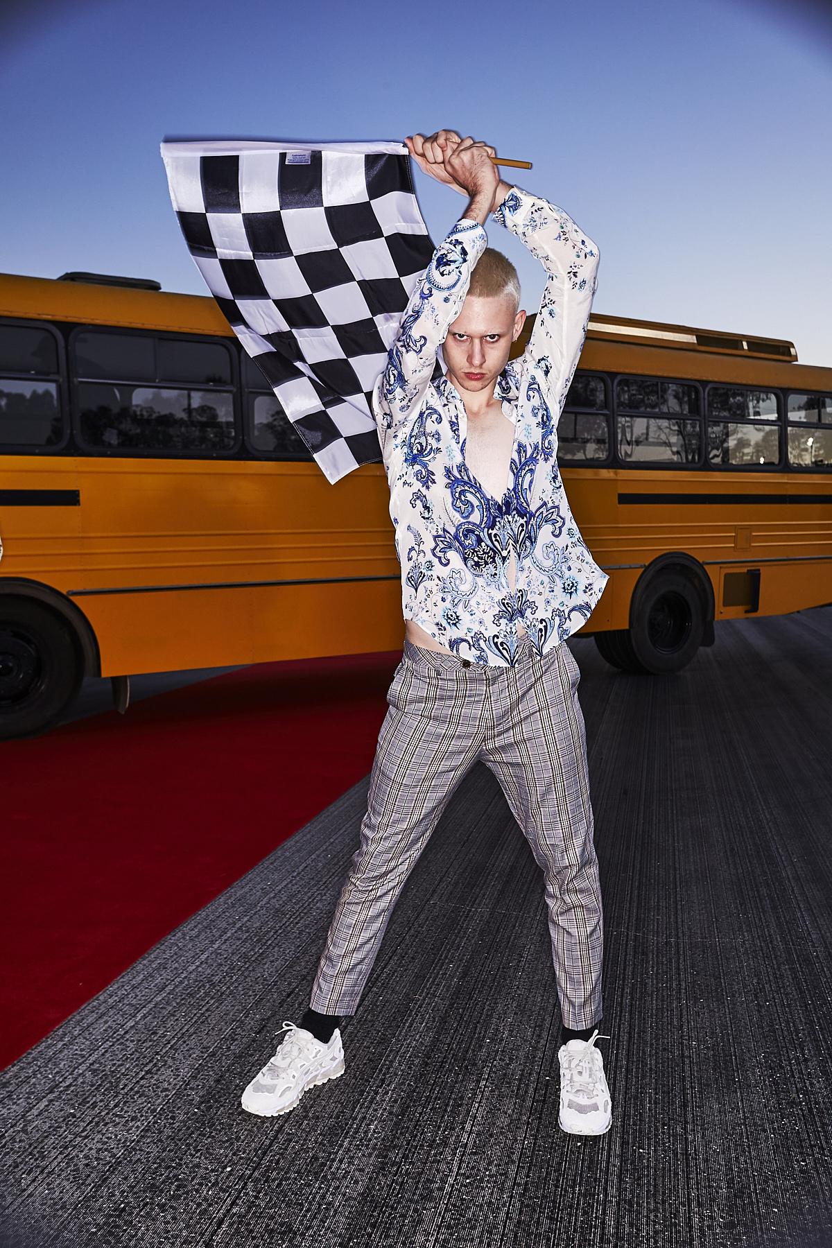 Iconic Virtual Fashion Show behind the Scenes at Sydney Dragway Eastern Creek